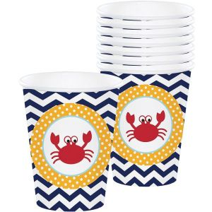 Nautical Theme Paper Cups (8)