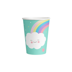 Happy Little Cloud Paper Cups (8)