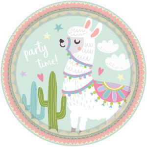Oh My Llama Paper Plates (8)