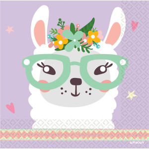 Oh My Llama Serviettes (16)