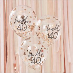 Mix It Up Hello 40 Confetti Balloons (5)