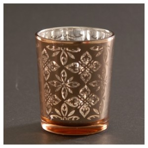 Rose Gold Votive Candle Holder