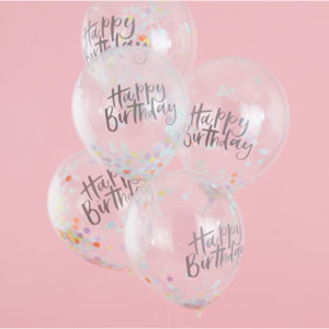 Pastel Party Confetti Balloons (5)