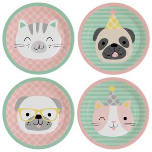Pet Pawty Paper Plates (8)