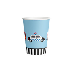 Rescuers on the Road Paper Cups (8)