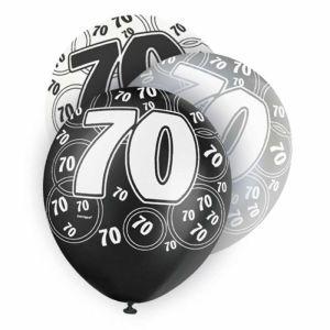Age 70 Balloons (6)