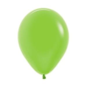 Neon Green Latex Balloons (5)