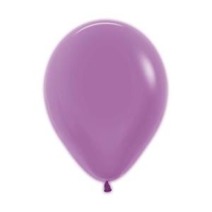 Neon Purple Latex Balloons (5)