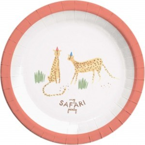 My Safari Party Paper Plates (8)