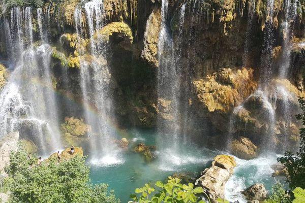 Yerköprü Şelalesi - Sarıhacı, Güneysınır, Konya