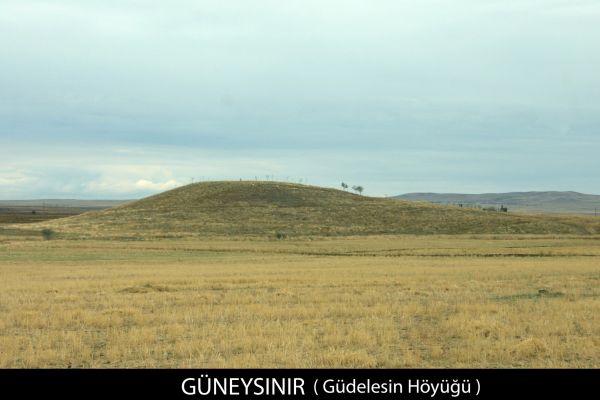 Güdelesin Höyüğü - Güneybağ, Güneysınır, Konya