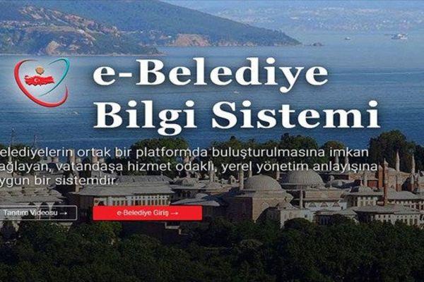 Belediyemiz İçişleri Bakanlığı e-Belediye Bilgi Sistemine dahil olmuştur.