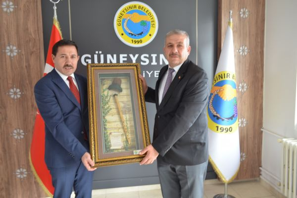 Karatay Belediye Başkanımız Hasan KILCA'dan Güneysınır ilçemize ziyaret