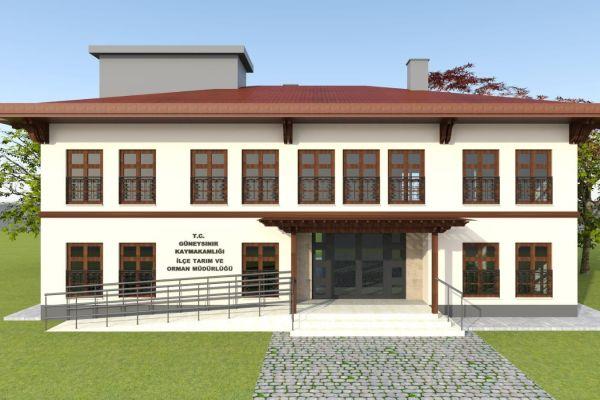 Güneysınır'a Yeni Tarım ve Orman Müdürlüğü Hizmet Binası
