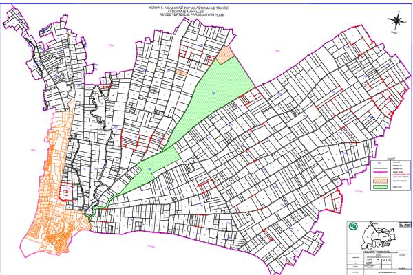 DSİ 4. Bölge Müdürlüğünden Aydoğmuş Mahallesi Toplulaştırma İlanı