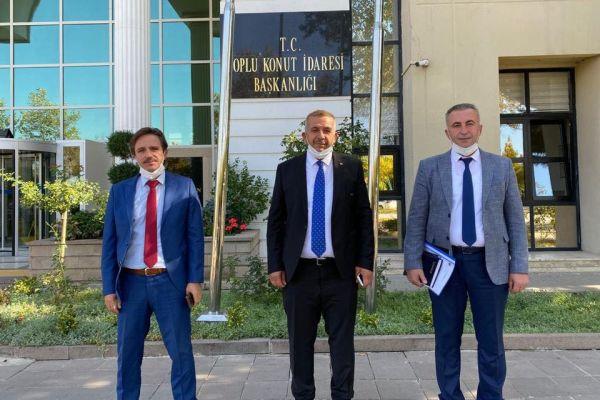 Başkan Ahmet Demir'in Ankara ziyaretleri