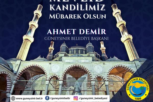 Başkan Demir'in Mevlid Kandili Mesajı
