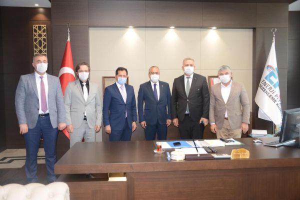 Belediye Başkanımız Ahmet Demir'in Ankara temasları