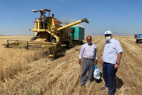 Başkan Ahmet Demir'den çiftçilerimize ziyaret