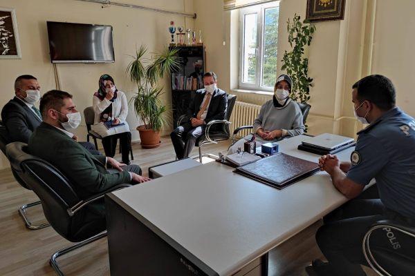 Konya Milletvekili Gülay Samancı Güneysınır'ı ziyaret etti