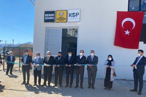 Güneysınır Tıbbi Aromatik Bitkiler Distilasyon Merkezi açıldı.