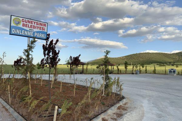 Güneysınır Belediyesi ilçeye yeni bir park kazandırdı