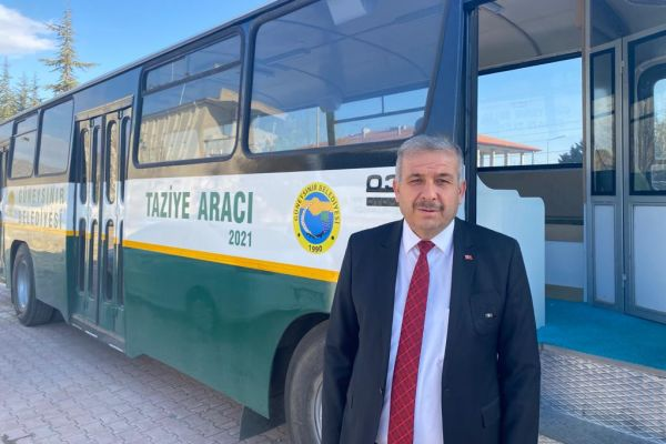 Güneysınır'da Mobil Taziye Araçları Hizmete Girdi