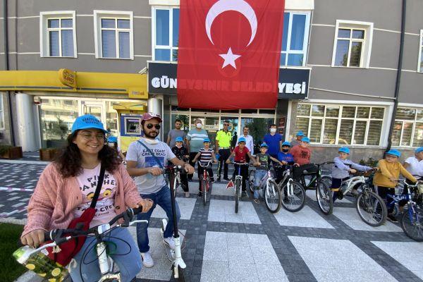 Avrupa Hareketlilik Haftası'nda Güneysınır'da bisiklet turu