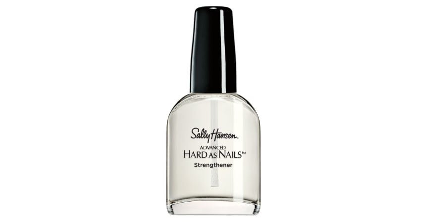 Sally hansen advanced hard as nails strengthening top coat review