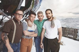 Tokio Hotel - Photoshoot Dream Machine 2017 by Lado Alexi