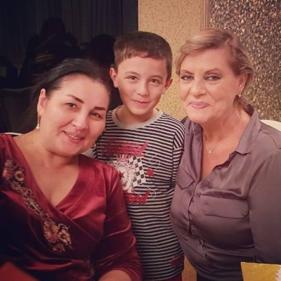 9-летний азербайджанец очаровал легендарную певицу - ФОТО+ВИДЕО