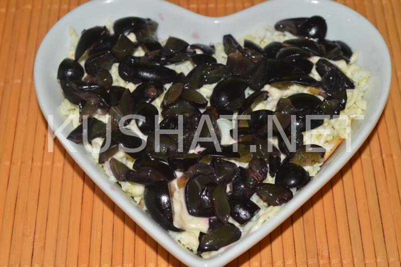 12_салат Тиффани с курицей и виноградом