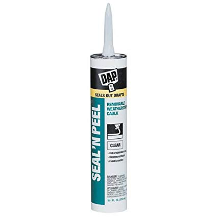 Dap seal n peel caulk