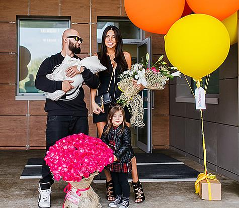 Недавно Джиган и Оксана Самойлова снова стали родителями - у супругов родилась вторая дочь. Фото: личный архив.