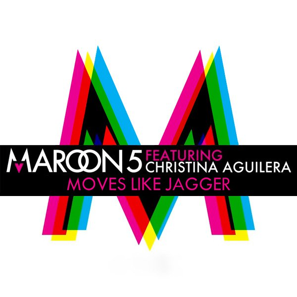 Christina aguilera maroon 5 moves like jagger lyrics