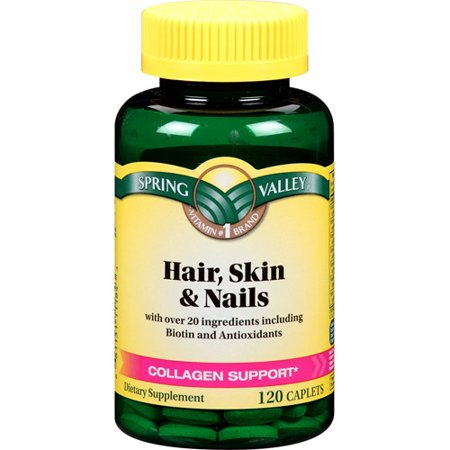 Hair skin and nails biotin walmart