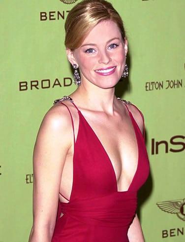 Elizabeth Banks Hot in Red