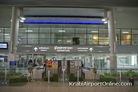 Krabi Airport Departures