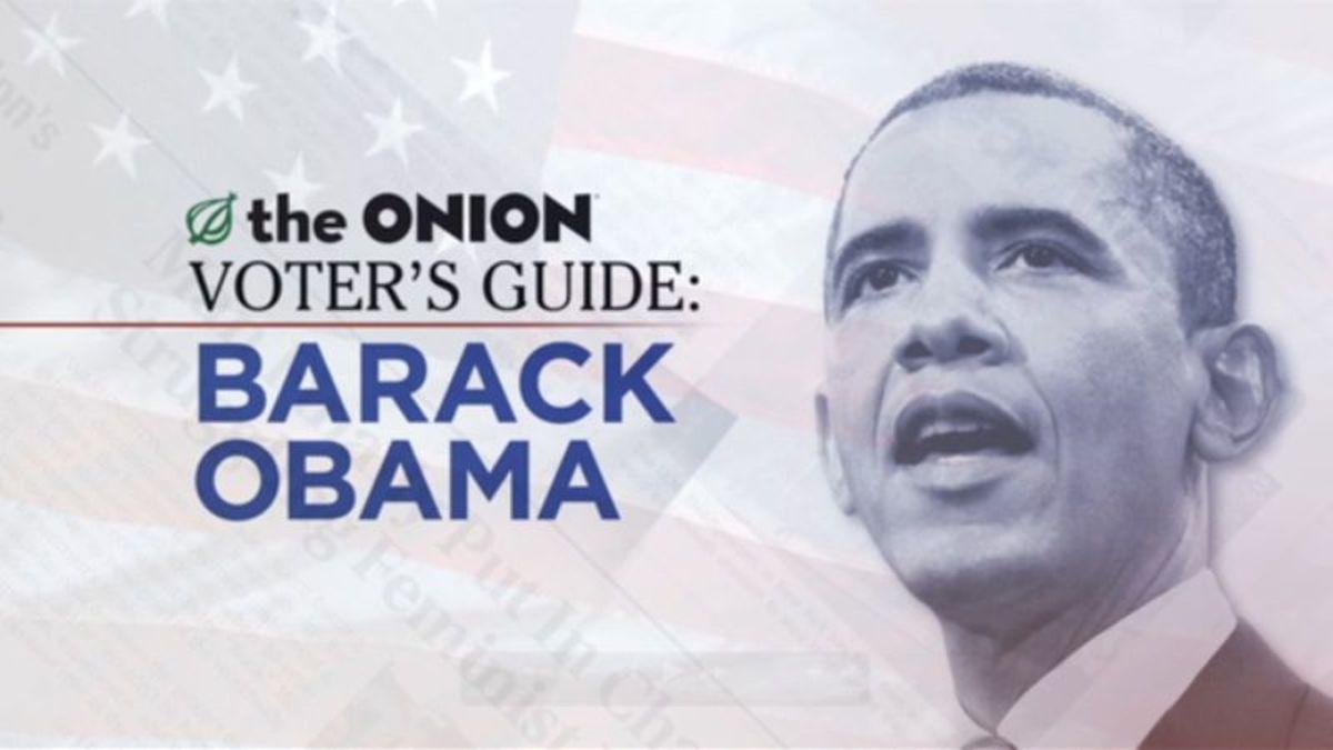 Onion barack obama