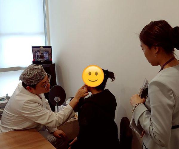 Face&neck lifting 1 week checkup!