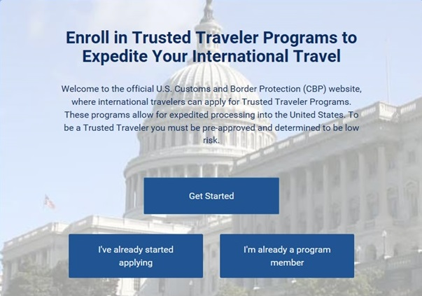 Global Online Enrollment System is no longer available and it is now replaced by Trusted Traveler Programs (TTP)