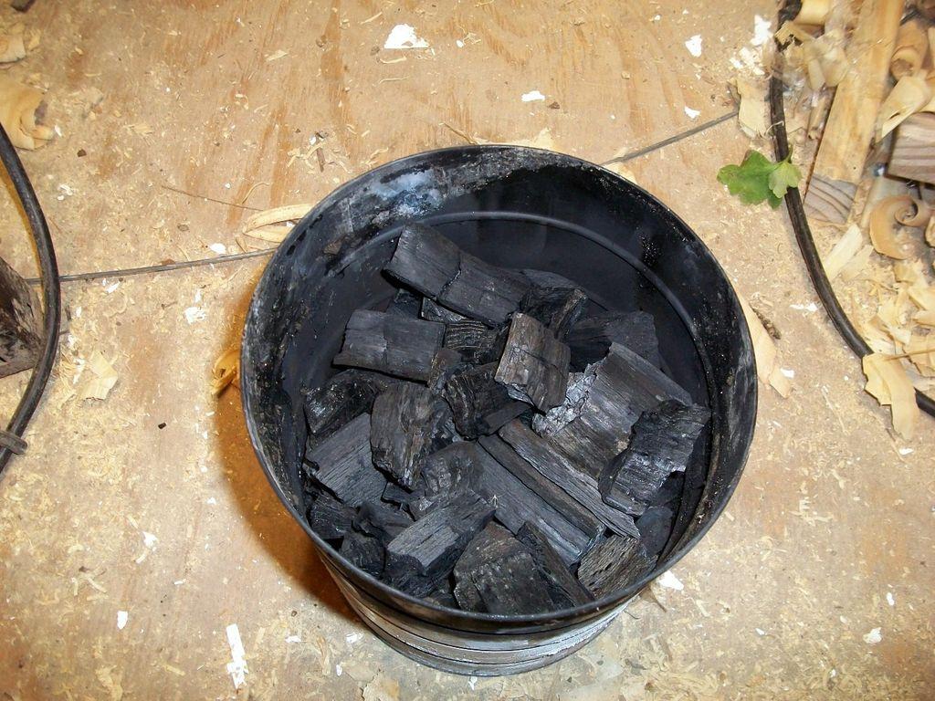 Уголь древесный производство в домашних условиях