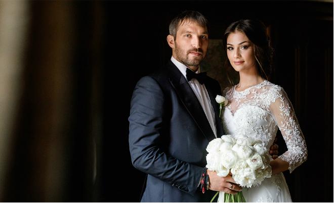 Свадьба Анастасии Шубской и Александра Овечкина
