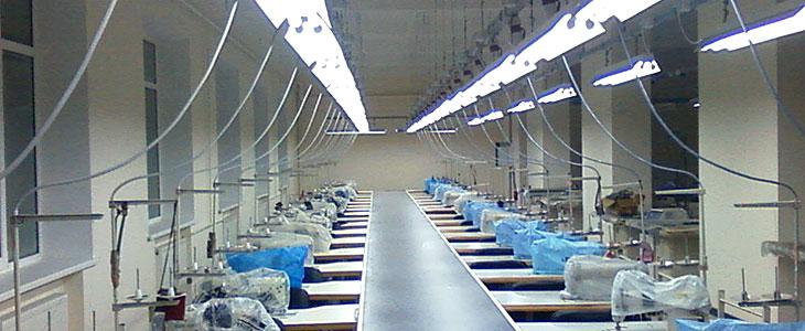 Фото швейного цеха