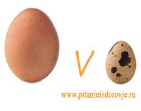 Перепелиные яйца или куриные