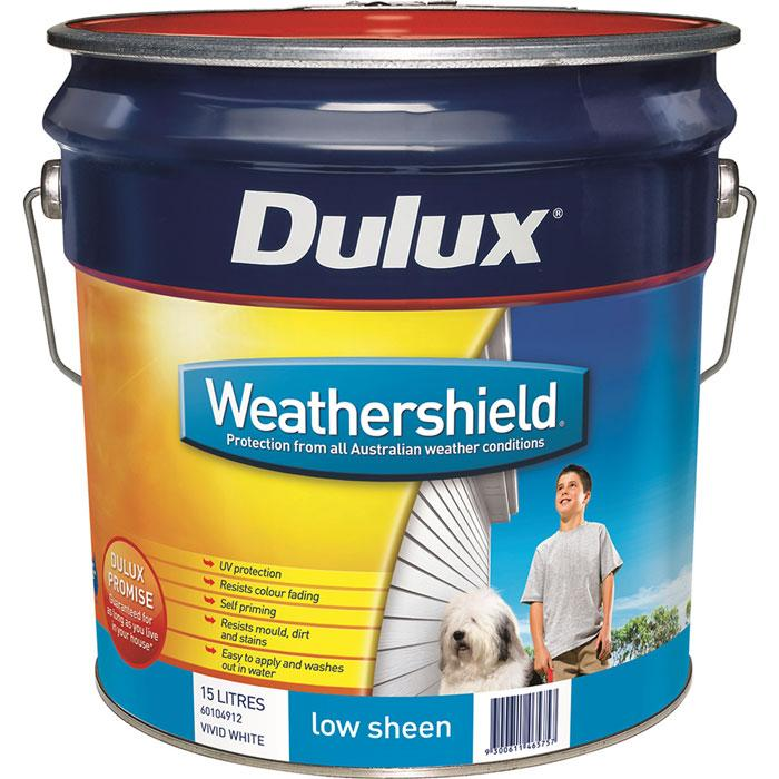 Weathershield low gloss sealer