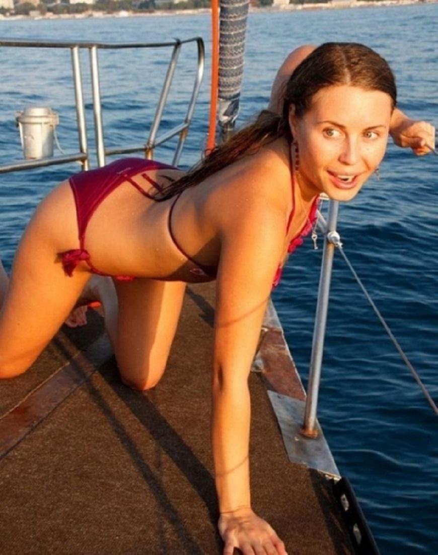 Юлия — ловим рыбку