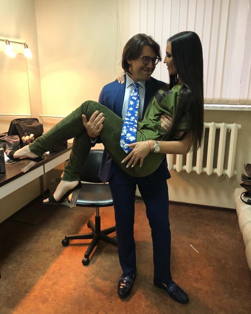 Ольга Бузова и Андрей Малахов