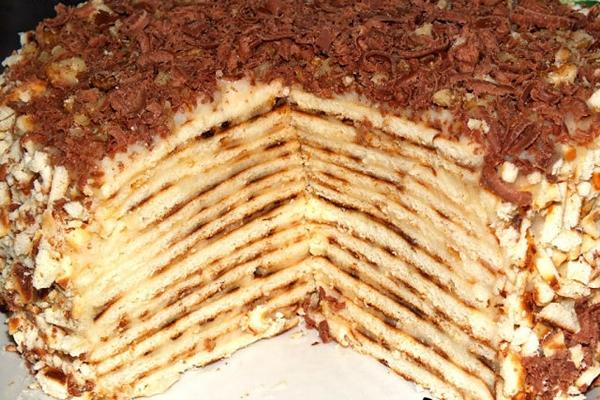 Быстрые коржи для торта