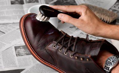 Как красить обувь